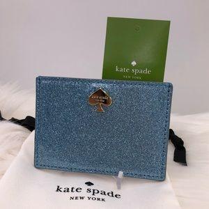 🎁 Kate spade glitter bug graham Cardholder